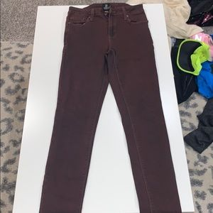 Copper/brown  jeans